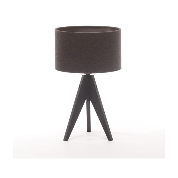 Lampa stołowa Artista Black Birch/Dark Grey Felt, 28 cm