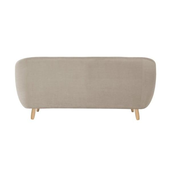 Szarobrązowa sofa trzyosobowa Vicky