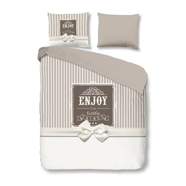 Pościel Enjoy Grey, 140x200 cm