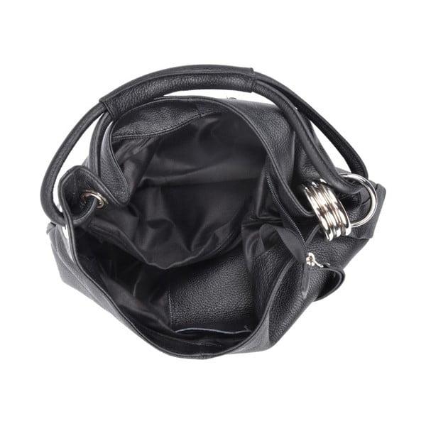 Czarna torebka skórzana Isabella Rhea no. 1022