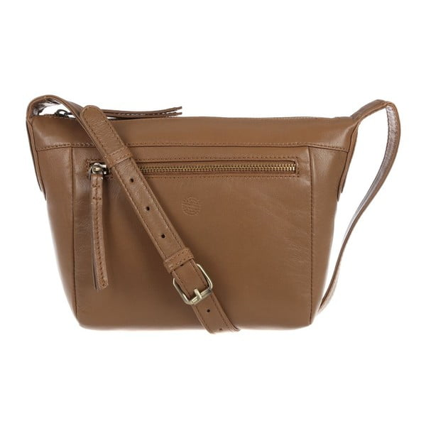 Damska torba skórzana Aurora Biscuit Small Cross-Body