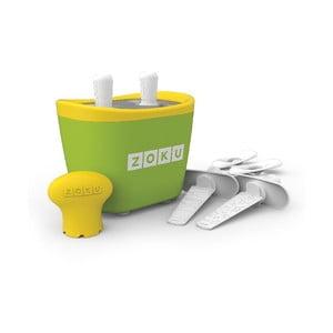 Zielona maszynka do lodów Zoku Duo
