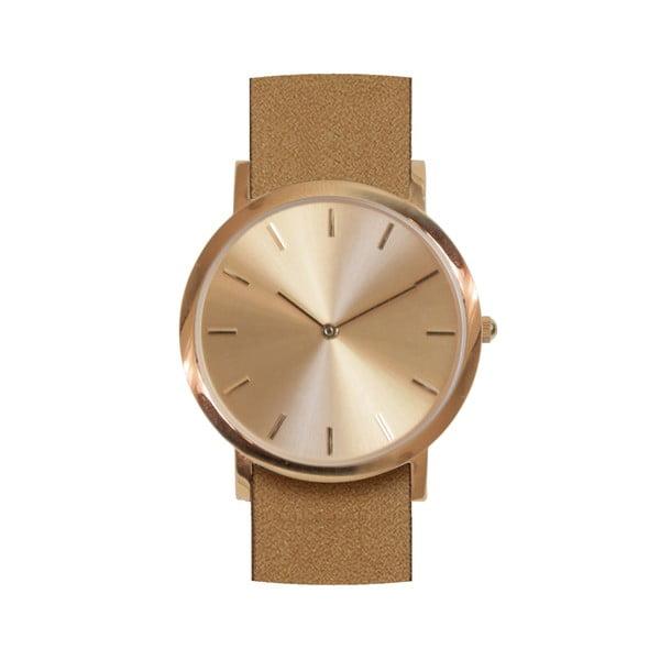 Brązowy zegarek Analog Watch Co. Classic
