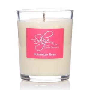 Świeczka o zapachu bursztynu i róży Skye Candles Container, 12h