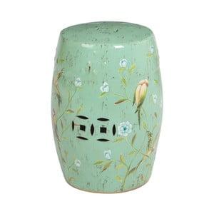 Stołek ceramiczny Complements Stool, zielony