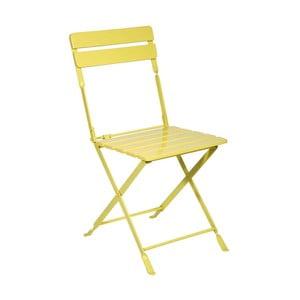 Krzesło Industry Yellow, 40x37x88 cm