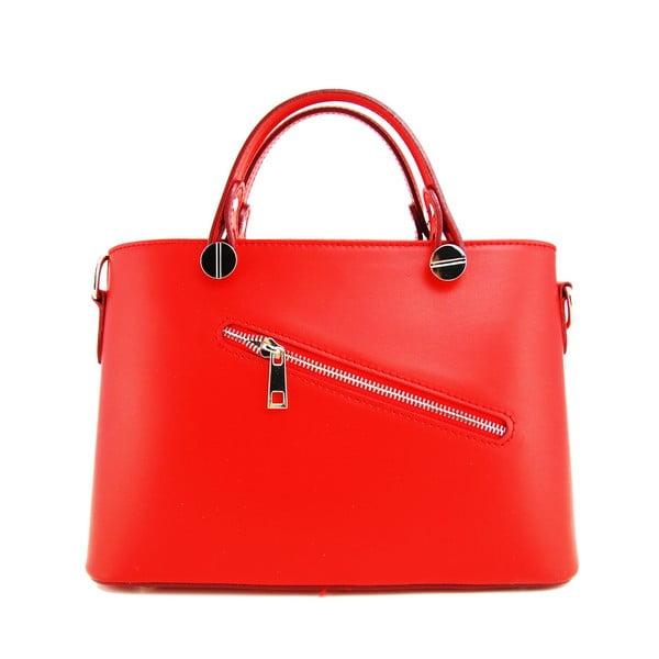Skórzana torebka Adelaide Rosso