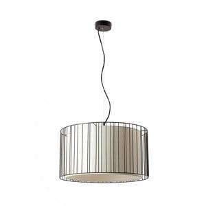 Lampa sufitowa wisząca Linda Nero