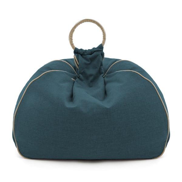 Worek do siedzenia Vivonia Indoor Dark Turquoise/Beige