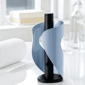 Niebiesko-czarny stojak na ręczniki papierowe Steel Function Pisa