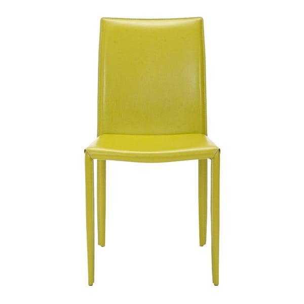 Zestaw 2 krzeseł Caleb Lime