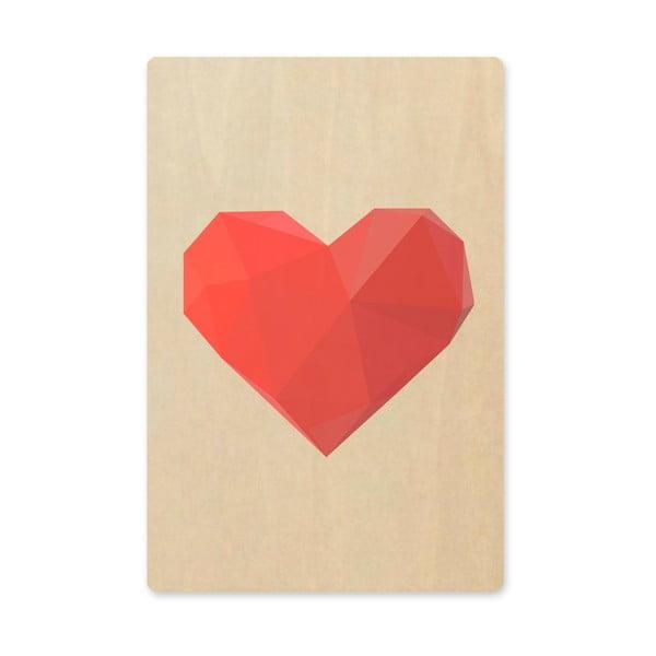Obraz Artboard Heart, A6