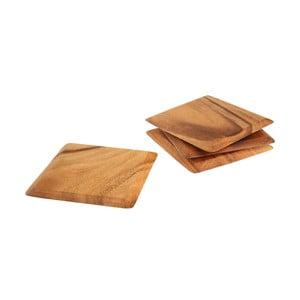 Zestaw 4 podkładek z drewna akacjowego T&G Woodware Tuscany