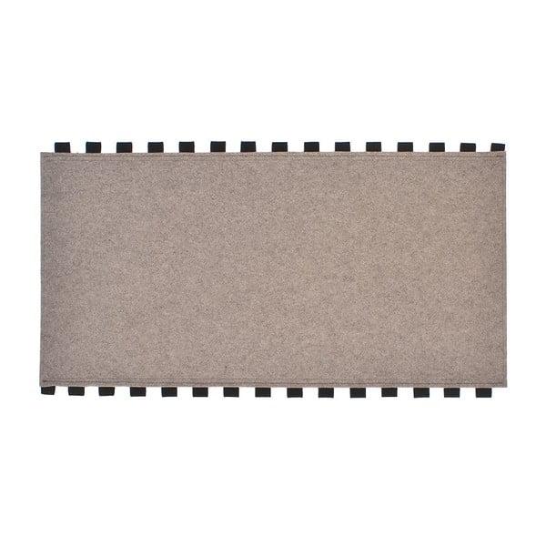 Tapperello Beige, dywan 120x65 cm