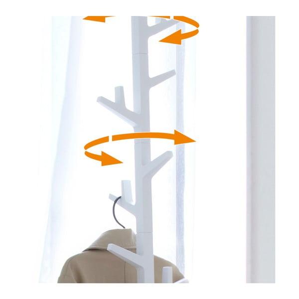 Biały wieszak Yamazaki Branch Pole Hanger