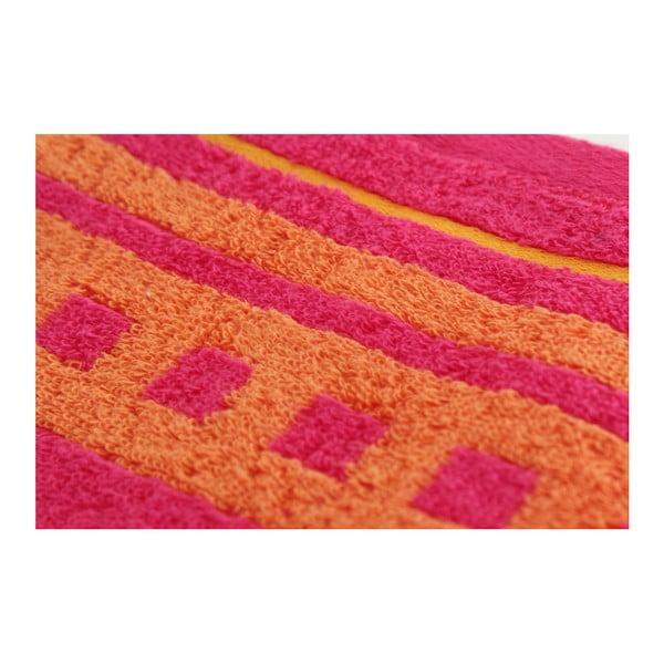 Zestaw 3 ręczników Clay Raspberry, 50x100 cm
