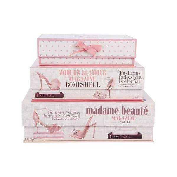 Zestaw 3 pudełek Beauté