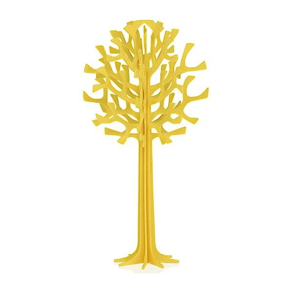 Składana pocztówka Lovi Tree Yellow, 13.5 cm