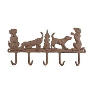 Wieszak z haczykami Esschert Design Świat psów