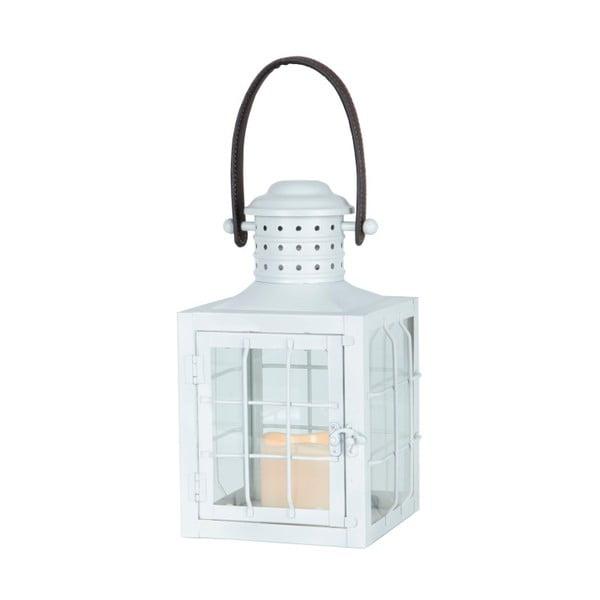 Biały lampion LED z uchwytem Best Season