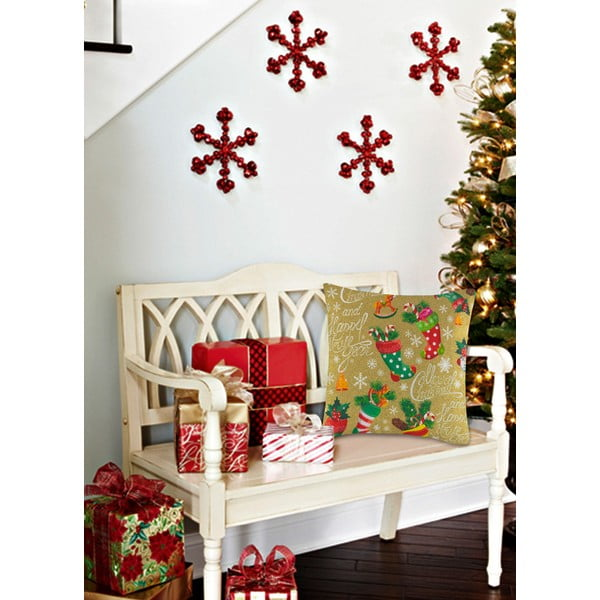 Poszewka Christmas V19, 45x45 cm