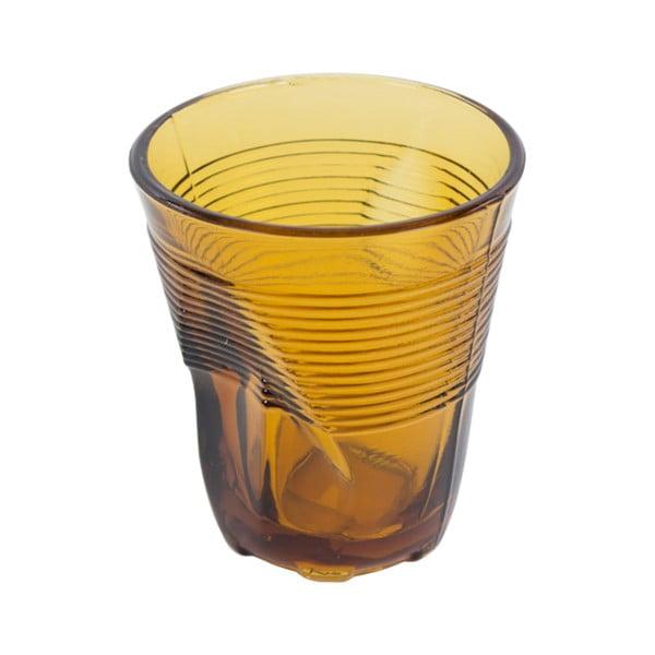 Zestaw 6 żółtych szklanek Kaleidos, 225ml