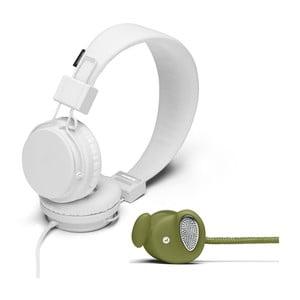 Słuchawki Plattan White + słuchawki Medis Olive GRATIS
