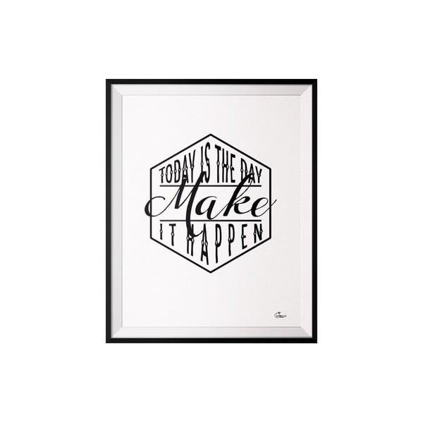 Plakat Make, 40x50 cm