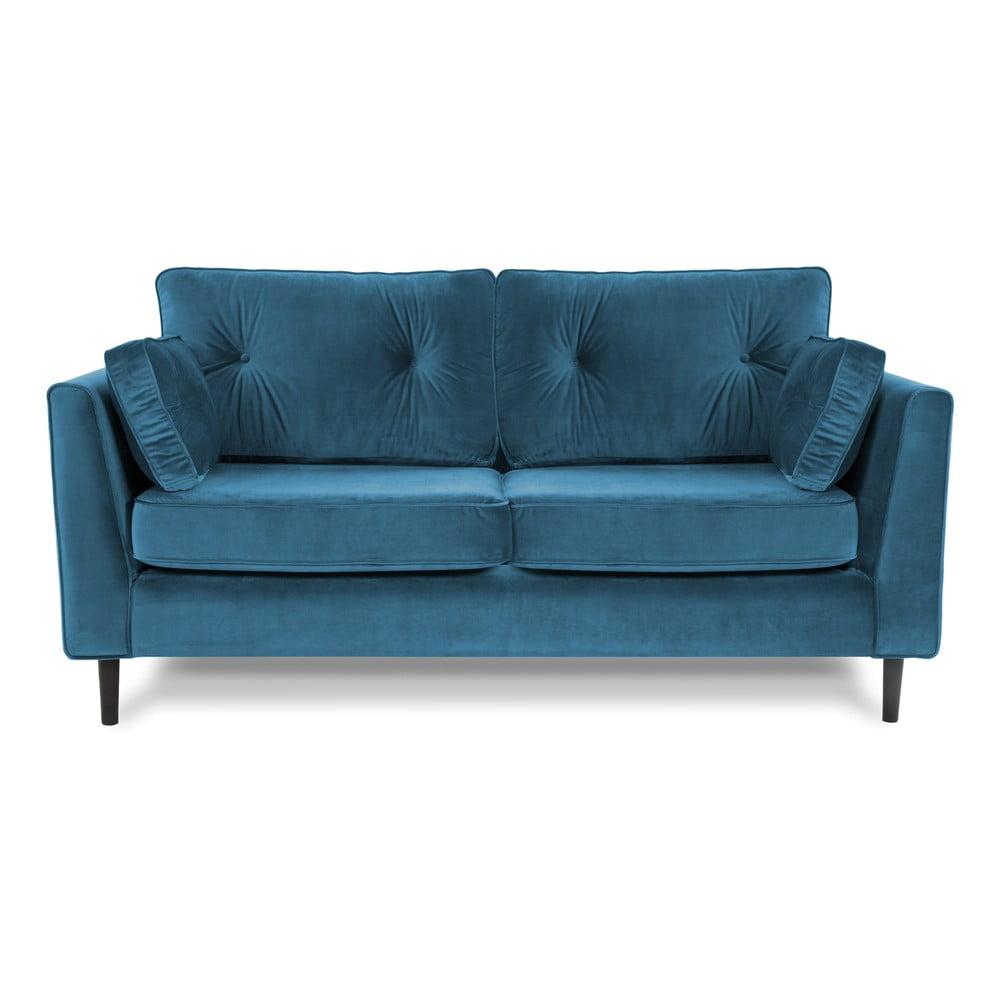 Niebieska 3-osobowa sofa Vivonita Portobello