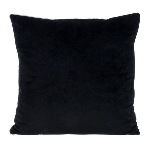 Poduszka Check Black, 45x45 cm