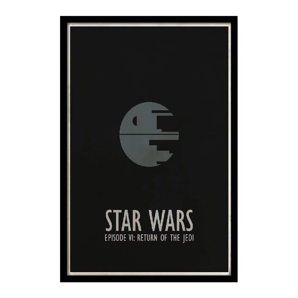 Plakat Star Wars VI, 35x30 cm
