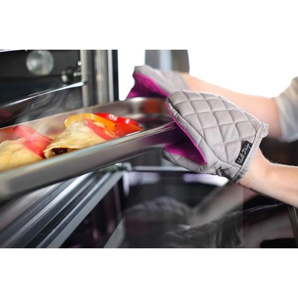 Bawełniana rękawica kuchenna z silikonem Vialli Design