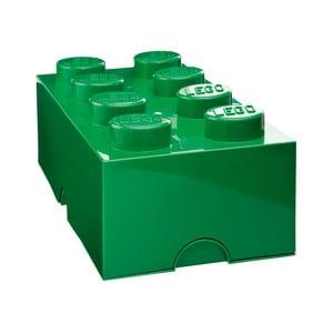 Zielony pojemnik prostokątny LEGO®