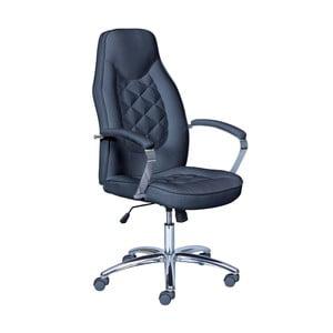 Czarny fotel biurowy 13Casa Thor