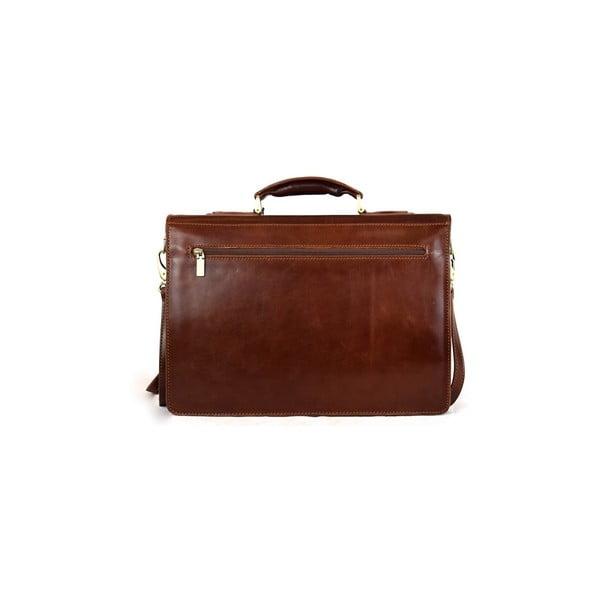 Skórzana torba Santo Croce VL8215 Brown