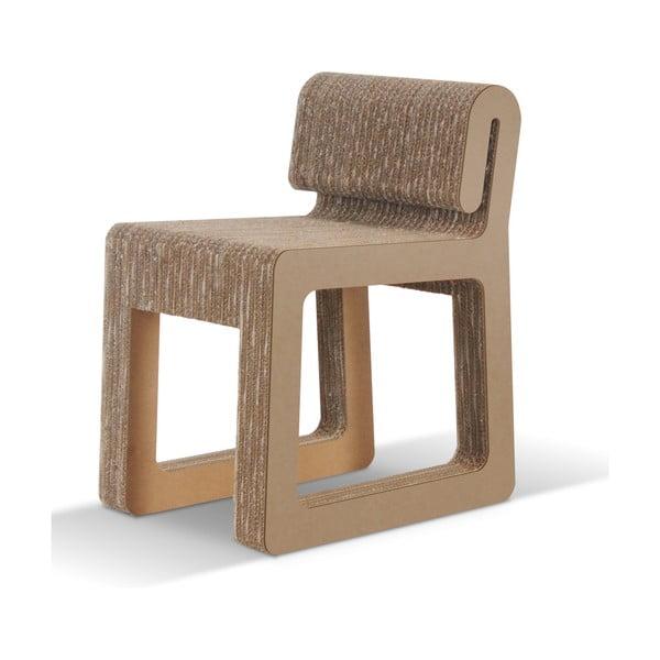 Kartonowe krzesło Hook Natural