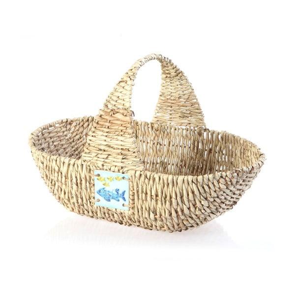 Wiklinowy koszyk Wicker Basket, 44 cm