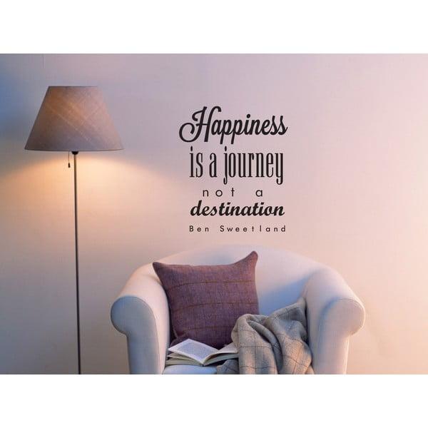 Naklejka dekoracyjna Happiness