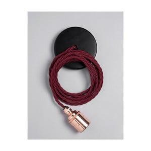 Kabel Copper Skirt Burgundy Red