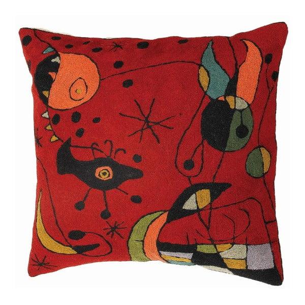 Poszewka na poduszkę Miro Red, 45x45 cm