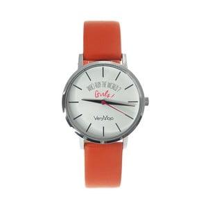 Zegarek VeryMojo Girl Power, pomarańczowy