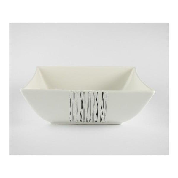 Porcelanowa miska sałatkowa Silver Line, 24 cm