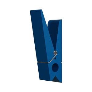 Niebieski wieszak w kształcie klamerki SwabDesign
