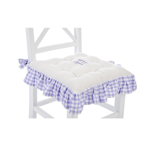 Poduszka na krzesło Lavender Cott, 40x40 cm