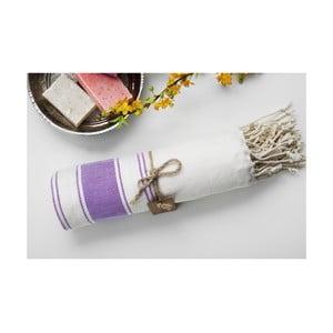 Ręcznik hamam Bambu Loincloth Lilac, 100x180 cm