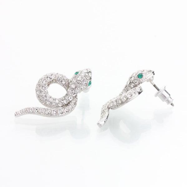 Kolczyki z kryształami Swarovski Elements Laura Bruni Snake