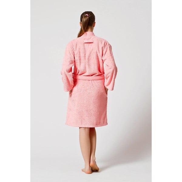 Szlafrok damski U.S. Polo Assn. Pink,  XS/S