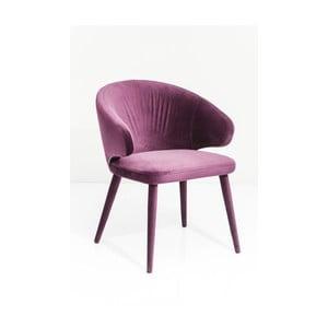 Fioletowe krzesło Kare Design Purple Rain