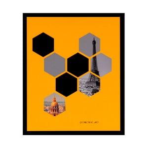 Obraz sømcasa Hexag, 25x30 cm