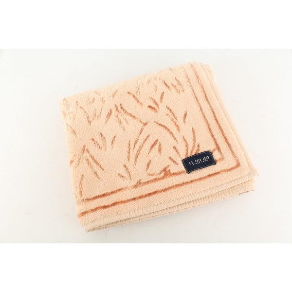 Dywanik łazienkowy U.S. Polo Assn. Pink Grass, 60x100 cm